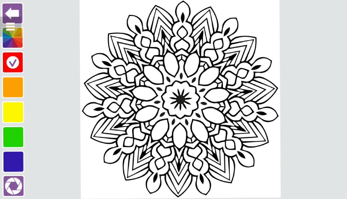 Mandala Coloring Book HTML5 - buy Mandala Coloring Book on ...