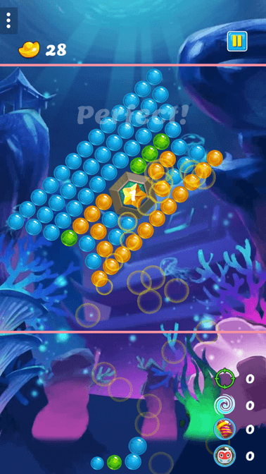Bubble Shooter Game portrait