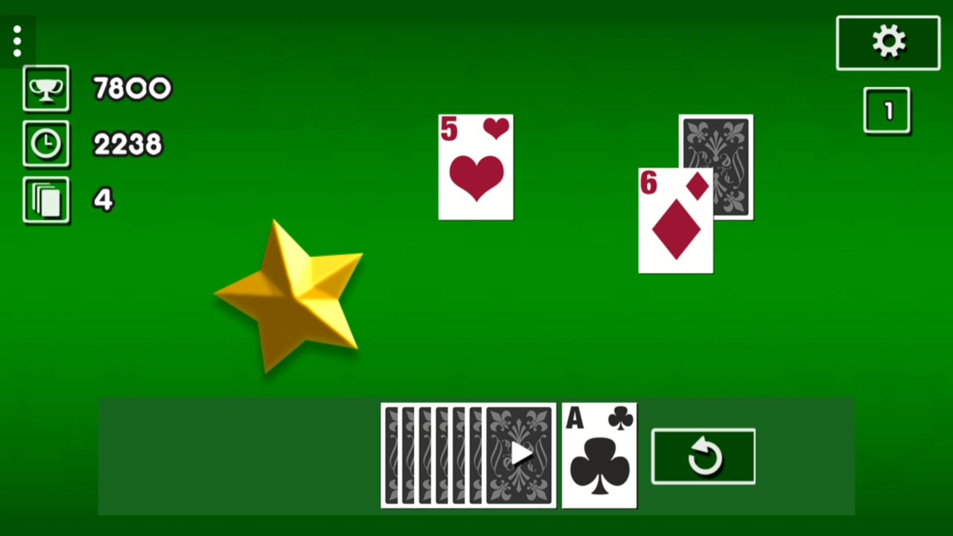 Solitaire Online Screenshot