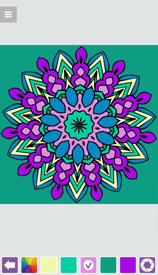 Mandala Coloring Book HTML5